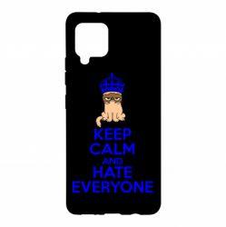 Чехол для Samsung A42 5G KEEP CALM and HATE EVERYONE
