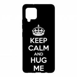 Чохол для Samsung A42 5G KEEP CALM and HUG ME