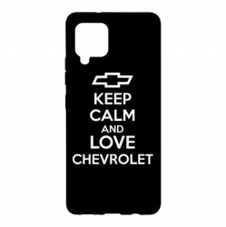 Чохол для Samsung A42 5G KEEP CALM AND LOVE CHEVROLET