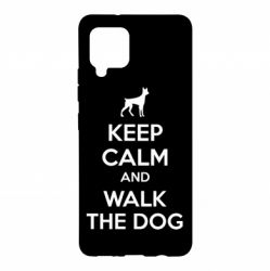 Чохол для Samsung A42 5G KEEP CALM and WALK THE DOG