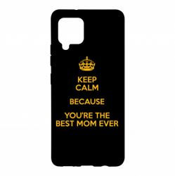 Чохол для Samsung A42 5G KEEP CALM because you're the best ever mom