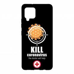 Чехол для Samsung A42 5G Kill coronavirus the doctor will help