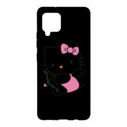 Чохол для Samsung A42 5G Kitty амурчик