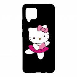 Чехол для Samsung A42 5G Kitty балярина