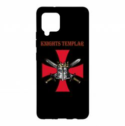 Чохол для Samsung A42 5G Knights templar helmet and swords