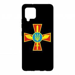 Чохол для Samsung A42 5G Хрест з мечем та гербом