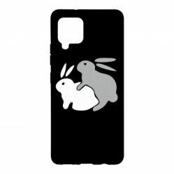 Чохол для Samsung A42 5G Кролики