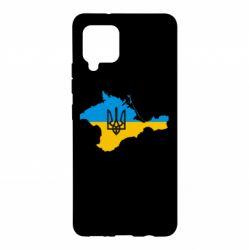 Чохол для Samsung A42 5G Крим це Україна