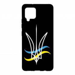Чохол для Samsung A42 5G Кумедний герб України