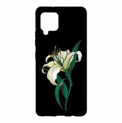 Чохол для Samsung A42 5G Lily flower
