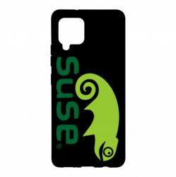 Чехол для Samsung A42 5G Linux Suse