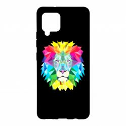 Чехол для Samsung A42 5G Lion vector