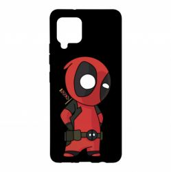 Чохол для Samsung A42 5G Little Deadpool