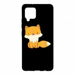 Чехол для Samsung A42 5G Little red fox