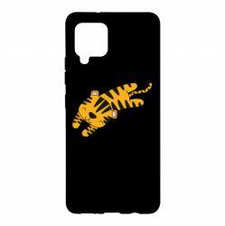 Чохол для Samsung A42 5G Little striped tiger