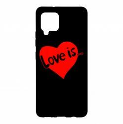 Чохол для Samsung A42 5G любов-це...