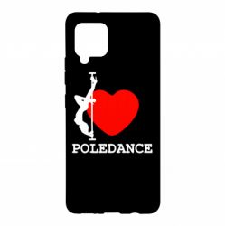 Чохол для Samsung A42 5G Love Pole Dance