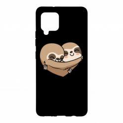 Чохол для Samsung A42 5G Love sloths