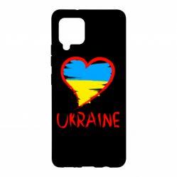 Чохол для Samsung A42 5G Love Ukraine