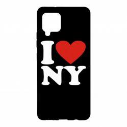 Чохол для Samsung A42 5G Люблю Нью Йорк
