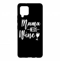 Чохол для Samsung A42 5G Mama need wine