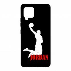 Чохол для Samsung A42 5G Майкл Джордан