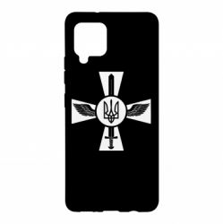 Чехол для Samsung A42 5G Меч, крила та герб