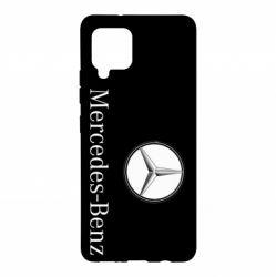 Чехол для Samsung A42 5G Mercedes-Benz Logo