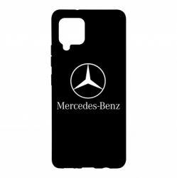 Чехол для Samsung A42 5G Mercedes Benz