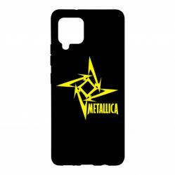 Чохол для Samsung A42 5G Логотип Metallica