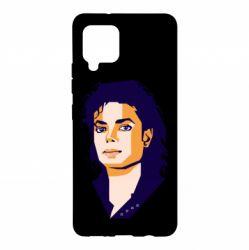 Чохол для Samsung A42 5G Michael Jackson Graphics Cubism