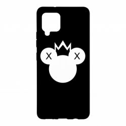 Чохол для Samsung A42 5G Mickey with a crown
