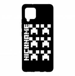 Чохол для Samsung A42 5G Minecraft and nickname