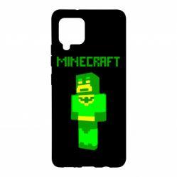Чохол для Samsung A42 5G Minecraft Batman