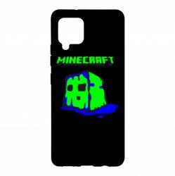 Чохол для Samsung A42 5G Minecraft Head