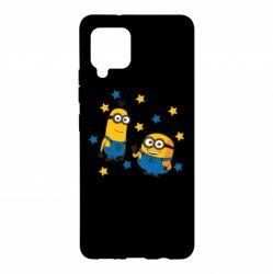 Чохол для Samsung A42 5G Minions and stars