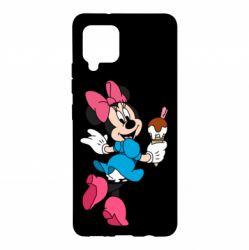 Чохол для Samsung A42 5G Minnie Mouse and Ice Cream