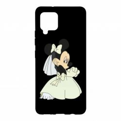 Чехол для Samsung A42 5G Minnie Mouse Bride