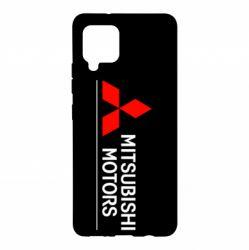 Чехол для Samsung A42 5G Mitsubishi Motors лого