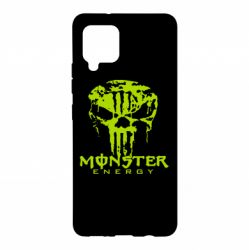 Чохол для Samsung A42 5G Monster Energy Череп