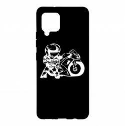 Чохол для Samsung A42 5G Мотоцикліст
