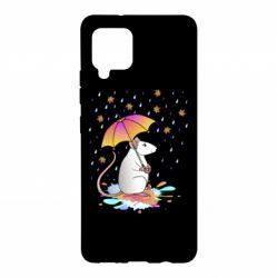 Чохол для Samsung A42 5G Mouse and rain