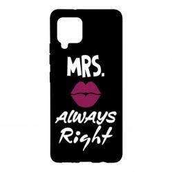 Чохол для Samsung A42 5G Mrs. always right