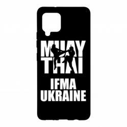 Чехол для Samsung A42 5G Muay Thai IFMA Ukraine