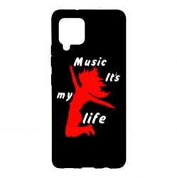 Чохол для Samsung A42 5G Music it's my life