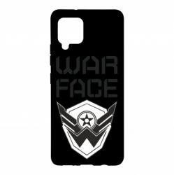 Чохол для Samsung A42 5G Напис Warface