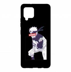 Чехол для Samsung A42 5G Naruto Hokage glitch