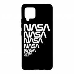 Чехол для Samsung A42 5G NASA