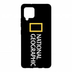 Чохол для Samsung A42 5G National Geographic logo