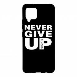 Чохол для Samsung A42 5G Never give up 1